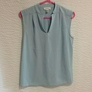 Calvin Klein light blue blouse,size s
